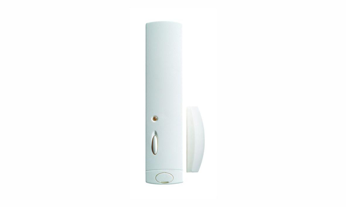 Dies ist die Kontaktsender der Daitem D22 Funkalarmanlage, die wir Ihnen als Alarmfachmann empfehlen, wenn Sie Wert auf Qualität und Design legen.
