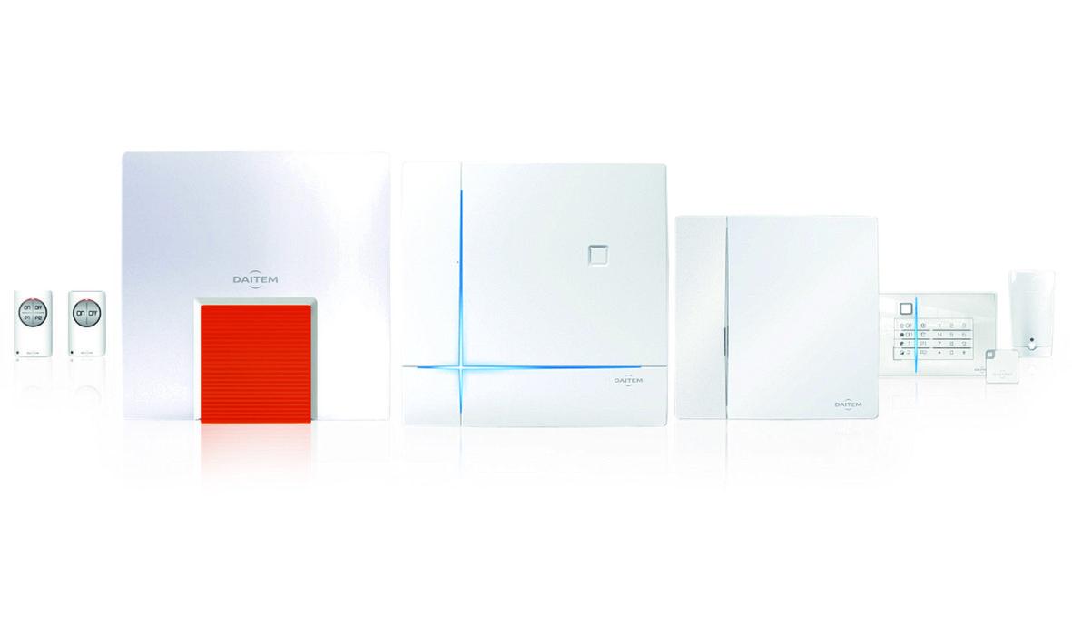 Dies ist die Produktserie der Daitem D22, die wir Ihnen als Alarmfachmann empfehlen, wenn Sie Wert auf Qualität und Design legen.