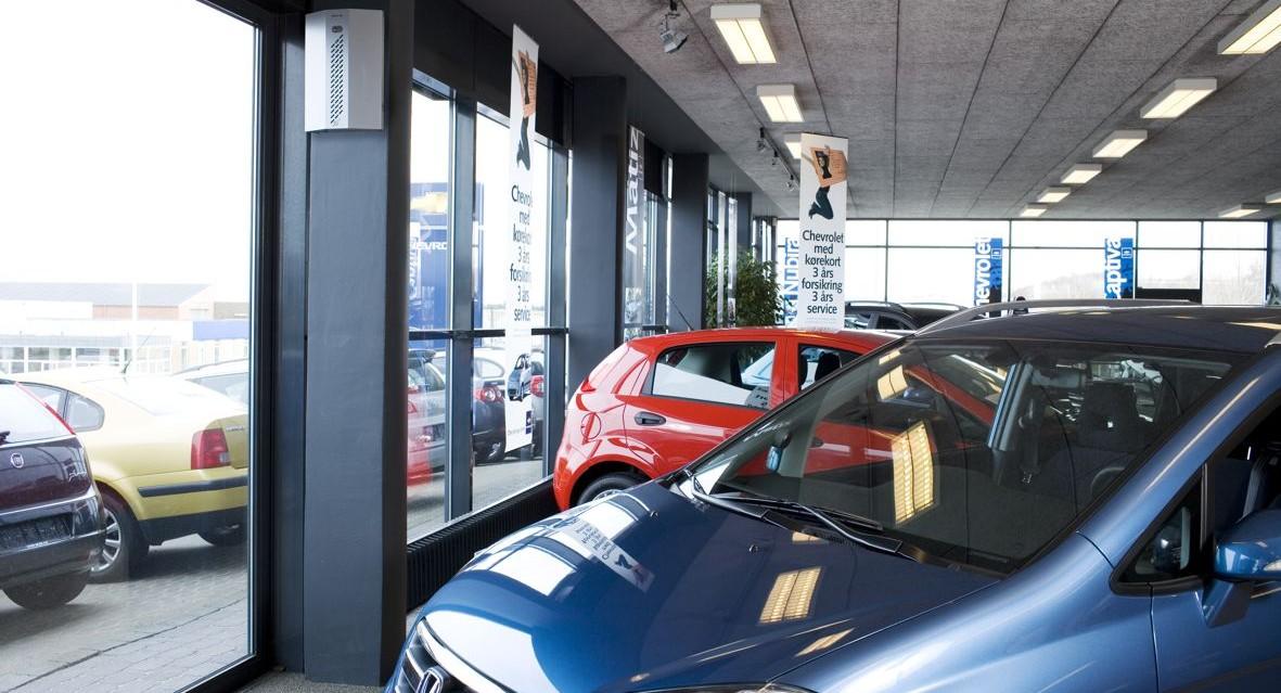 Alarmfachmann Beispiel für Nebenanlage Autohaus