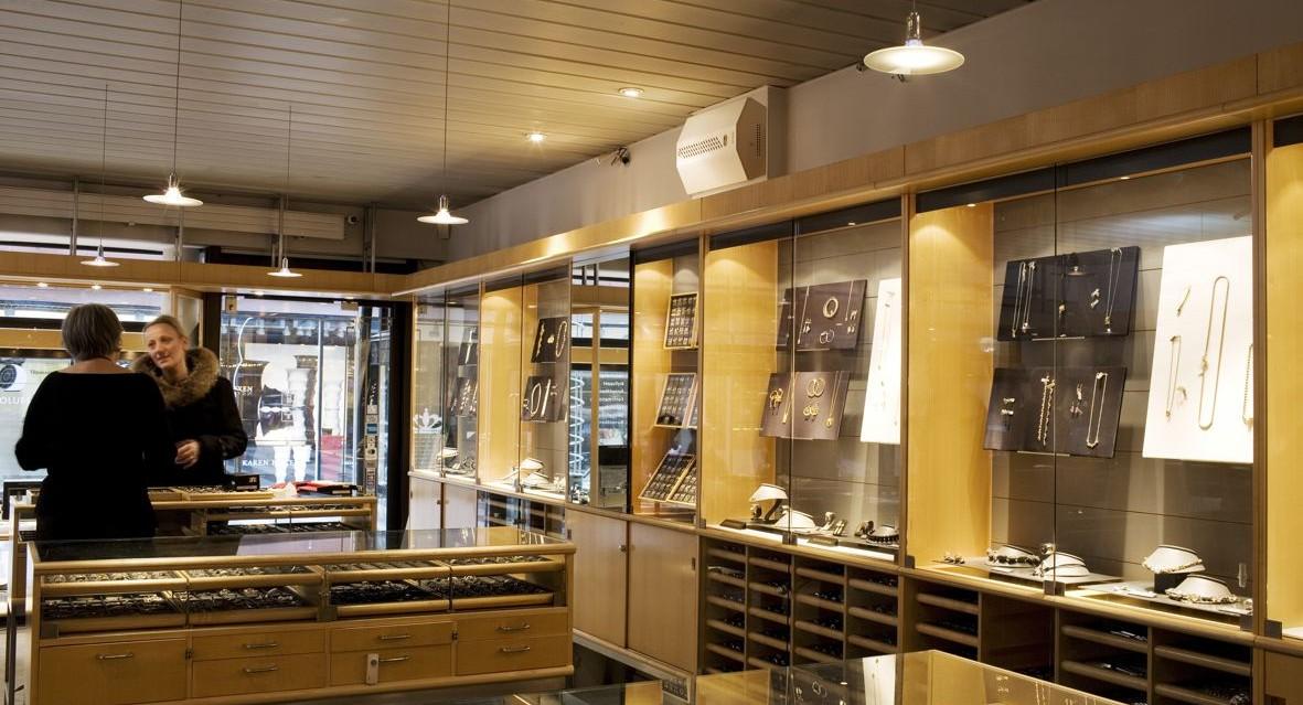 Alarmfachmann Beispiel für Nebenanlage Juwelier Bijouterie