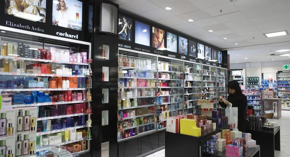 Alarmfachmann Beispiel für Nebenanlage Parfümerie